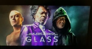 The Glass is an American superhero thriller from 2019, written, produced and directed by M. Night Shyamalan. The film is a sequel to Shyamalan's earlier films Unbreakable (2000) and Split (2016)