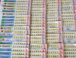 Thai Lottery 4pc Paper Tips 1 April 2019