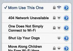 Best Clever Wi-Fi Names