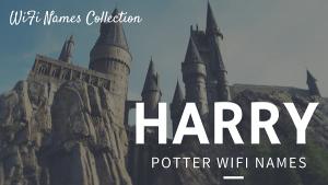 Harry Potter Wi-Fi Names