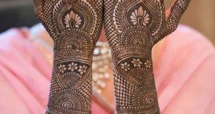 Latest Indian Bridal Mehndi Designs 2020