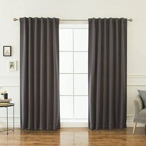 Best Home Fashion Thermal Insulated Blackout Curtains 2020