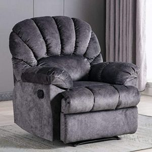 This is an elegant and stylish crowded chair that you will find perfect for use in the living room and bedroom. The chair is designed to provide long-term service. It has the sturdy espresso-finish solid wood feet to keep it sturdy and durable. The chair is also stable due to the high quality wooden frame.