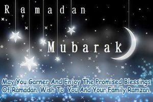 Ramadan Kareem wishes for Tweeter