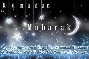 Ramadan Kareem wishes for Tweeter