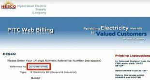 HESCO Duplicate Bill Print O
